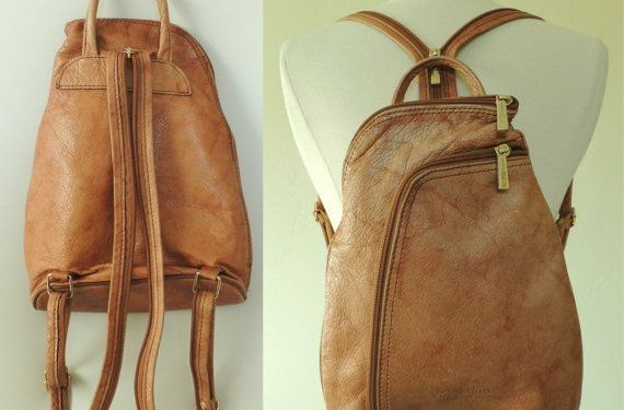 Brown Leather Backpack for ladies: Style and Convenience on the run